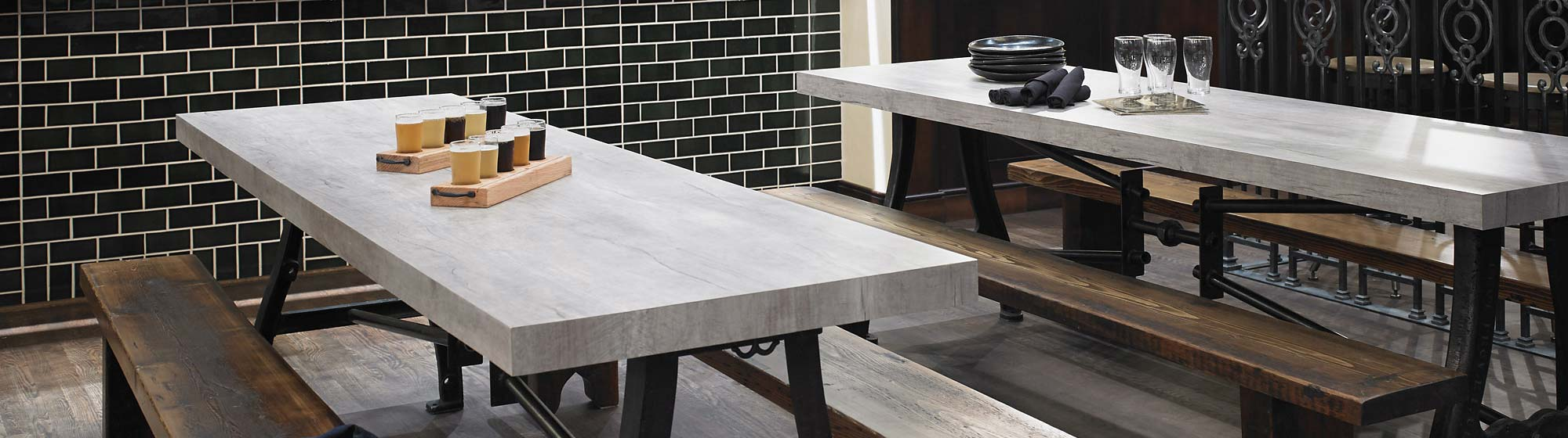 Formica HPL Laminate Color Choices - Only Table Tops