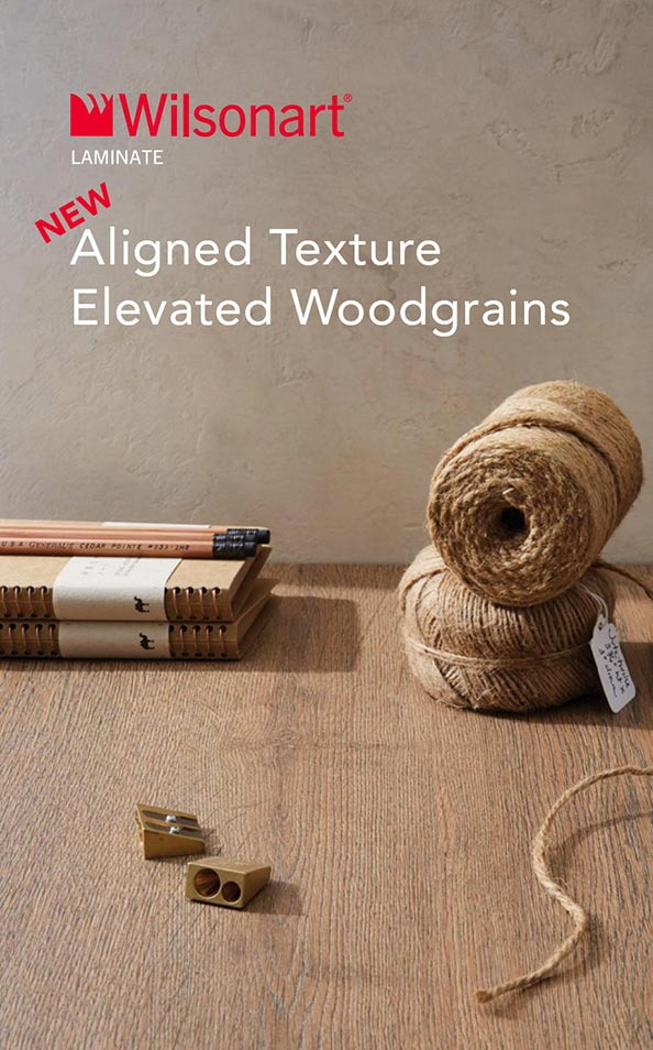 Wilsonart Aligned Texture Elevated Woodgrains Only Table Tops Manufacturer USA