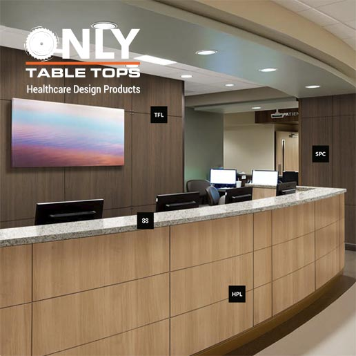 Healthcare Design Surfaces Only Table Tops Phoenix Arizona